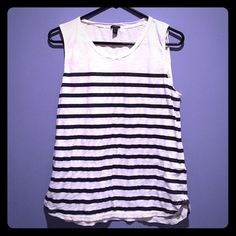 J. Crew navy and white striped sailor tank Preppy sailor tank from J. Crew J. Crew Tops Tank Tops