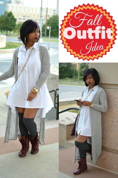 """""""Sweenee Style"""": 2 Stylish White Button Downs: Look Two"""