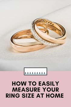 This is one of those things I had to randomly look up today, and I'm so glad I did! While I had a vague recollection of what my ring size was (I remember How To Measure Yourself, Tape Measure, Ruler, Scissors, Gold Rings, Forget, Pencil, Wedding Rings, Rose Gold