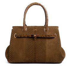 Asprey Darcy Bag in Brown