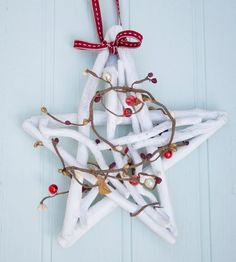 Driftwood Christmas Star