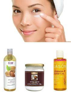 DIY night eye cream # Anti Aging #Treatments You Can Make at Home