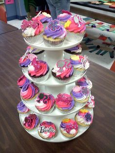 1000 Images About Barbie Cupcakes On Pinterest Barbie