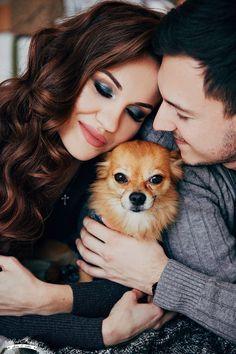 Новогодняя фотосессия, Новый год, семья , пёс, собака , любовь, чувства