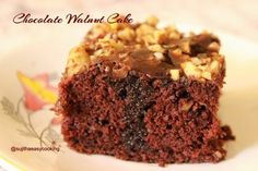 Share Tweet Pin Mail Chocolate Walnut cake is a classic cake, Rich Chocolaty cake, Loved this to a core.. if you like cocoa flavor, ...