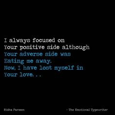Lost Girl, Focus On Yourself, Losing Me, Smoothie, Everything, Positivity, Love, Ideas, Amor
