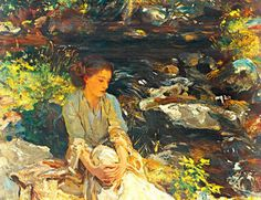 The Black Brook ,John Singer Sargent