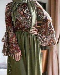 Abaya Fashion, Modest Fashion, Girl Fashion, Fashion Dresses, Moslem Fashion, Modele Hijab, Muslim Women Fashion, Eid Outfits, Islamic Clothing