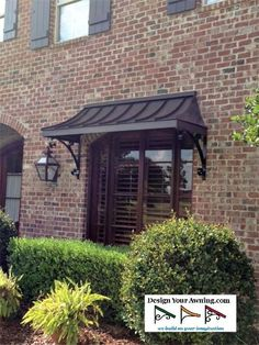 1000 Ideas About Metal Awning On Pinterest Window