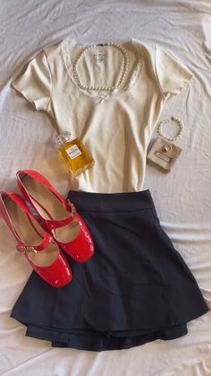 Preppy Outfits, Preppy Style, Cute Casual Outfits, Chic Outfits, Girl Outfits, Fashion Outfits, Looks Pinterest, Mein Style, Looks Cool