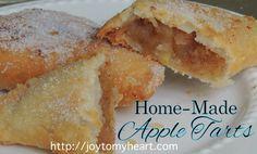 apple tarts  shared at Thursday Favorite Things blog hop