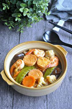 Claypot Tofu 沙锅豆腐 - Eat What Tonight Claypot Recipes, Tofu Recipes, Vegetable Recipes, Asian Recipes, Cooking Recipes, Healthy Recipes, Ethnic Recipes, Chinese Recipes, Prawn Recipes