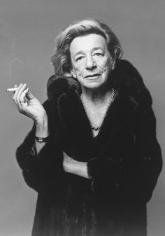 What Becomes A Legend Most? BLACKGLAMA...  1976 - Lillian Hellman