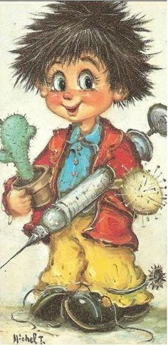 St. Wold........  Hallo Jack wat heb je daar toch voor een grote spuit... en een cactus..