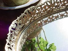 vintage vanity tray ~ seller: florasgarden on ebay
