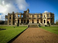 The side of Witley Court