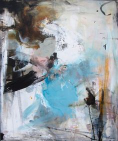 www.trinepanum.dk b22 MELLEMSTORE MALERIER Abstract Format, Example Of Abstract, Watercolor Art Lessons, Watercolor Art Paintings, Abstract Painters, Abstract Canvas, Contemporary Abstract Art, Abstract Expressionism, Painting Inspiration