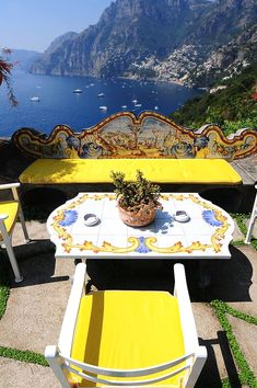 Positano, Italy the balcony of the Hotel San Pietro where I was married to the love of my life. Places Around The World, Oh The Places You'll Go, Places To Travel, Italy Vacation, Italy Travel, Siena Toscana, Tuscany, Wonderful Places, Beautiful Places