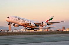"Emirates A380 take off @Dubai Airports pic.twitter.com/iyF2D5ypvA"" been on these planes"