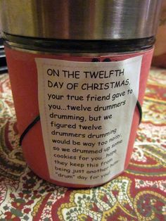 sense and simplicity the 12 days of christmas gift box pass it on