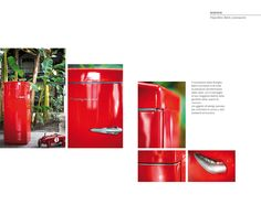 Frigo retro rosso ! #red #rosso #bompani #retro  #color #colour