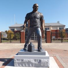 Be there for the official unveiling and dedication of the statue of Coach Erk Russell on Saturday, December 1st at 12:30 p.m. http://gseagles.com/headlines/12518-bronze-statue-of-legendary-coach-erk-russell-to-be-dedicated-december-1st