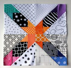 paper pieced star pattern - Many free PP block patterns this page