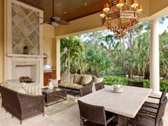 Excellent outdoor entertaining area