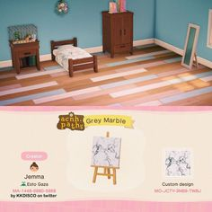 Animal Crossing Memes, Animal Crossing Qr Codes Clothes, Path Design, Design Ideas, Motifs Animal, Pixel Pattern, Pastel Wallpaper, Floor Patterns, Marble Pattern