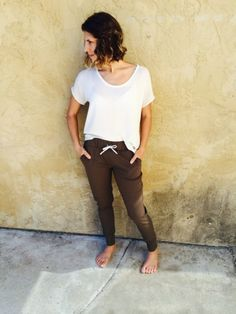 Hudson Pants in Olive by Sew Exhausted | Project | Sewing / Pants & Shorts | Kollabora