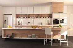 Barn Kitchen, Kitchen Benches, Kitchen Dinning, Wooden Kitchen, Beautiful Kitchens, Cool Kitchens, Beach House Kitchens, Scandinavian Kitchen, Best Kitchen Designs
