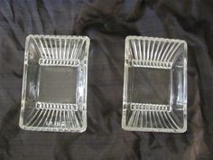 Art Deco style 1920-40's Saw toothed clear by MostlyAwesomeStuff