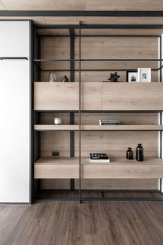 Shelving Design, Wall Design, Shelf Design, House Design, Home Office Design, Interior Design Living Room, Modern Interior, Cabinet Furniture, Furniture Design