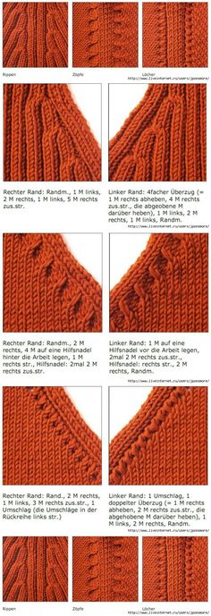 Raglan stricken, Raglan stricken, You are in the right place about Knitting Techniques edges Here we offer you the most beautiful pictures a Knitting Help, Knitting Stiches, Crochet Stitches, Hand Knitting, Knitting Machine, Knitting Patterns, Crochet Patterns, How To Purl Knit, Knit Or Crochet