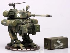 Dust tactics walking tank