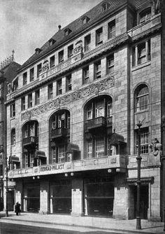 Behrenstraße 48.. Café und Tanzpalast Kerkau.. von A. M. Lange & K. Berndt.. aus BAW Juli, 1911