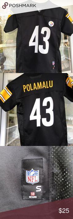 996cf91c3cb Troy Polamalu -Pittsburgh Steelers- Youth Small 🏈 What else is there to say