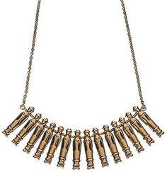 "Kirsti Ilvessalo for Kalevala Koru, Vintage ""Nukkekääty"" (Dolls) necklace, in bronze, 1940's. #Finland #KalevalaKoru Finnish Women, Finland, Vintage Jewelry, Gold Necklace, Bronze, Jewels, Strands, Tiffany, Jewellery"