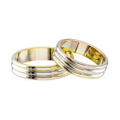 Kevin's Joyeros - Argollas De Matrimonio Elegant Wedding Rings, Couple Rings, Band Rings, Wedding Bands, Jewlery, Wedding Decorations, Engagement Rings, Gold, Hair Job