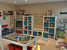 Small playroom storage ideas home decor inspirations Kids Playroom Storage, Small Playroom, Playroom Organization, Playroom Design, Playroom Decor, Playroom Ideas, Playroom Layout, Nursery Ideas, Kids Castle