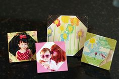 origami porta retrato