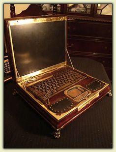 Steampunk Laptop - open.jpg photo SteampunkLaptop-open.jpg