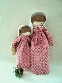 las sandalias de ana: country dolls