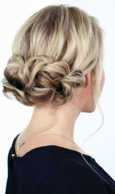 Tis the season for holiday parties! We have gathered some of our favorite hairstyles for the festivities! #holiday #updo #upstyle #hair #beauty #fashion #party #hairandbeauty
