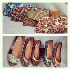 Pumps and matching clutch bags from Afrokulcha Clutch Bags, Slip On, African, Pumps, Sandals, Shoes, Fashion, Choux Pastry, Slide Sandals