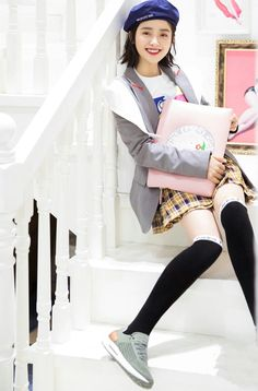 Shen Yue ❁ Korean Short Hair, Korean Girl, Simply Fashion, Teen Fashion, Korean Celebrities, Celebs, A Love So Beautiful, Beautiful Things, Shan Cai