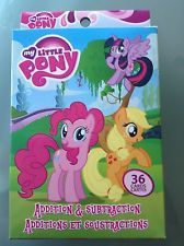 Addition And Subtraction 36 Cards: Paw Patrol, Little Pony Or Batman