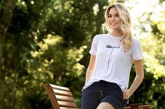 Pijama verão T Shirts For Women, Fashion, Women's T Shirts, Sleep, Moda, Fashion Styles, Fashion Illustrations