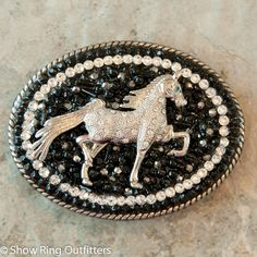 50% OFF, Black Beauty Belt Buckle - Show Ring Outfitters