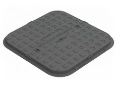 Ductile Iron Cover and Frame Kitemarked to EN 124 Class Closed Keyways Black Bitumen Coated One Piece Solid Top Single Seal Ductile Iron, Top Single, Seal, Cover, Frame, Black, Picture Frame, Black People, Frames